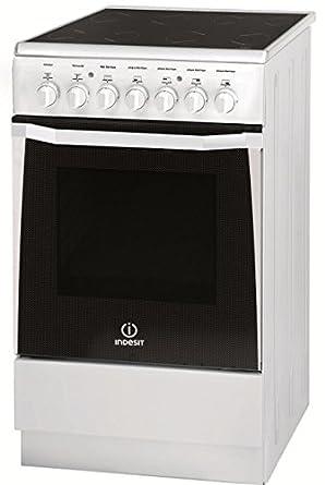 Indesit IW5VSC1A(W) FR Autonome 61L A Blanc four et cuisinière - fours et cuisinières (Autonome, Moyenne, Electrique, conventionnel, Grill, A, Blanc)