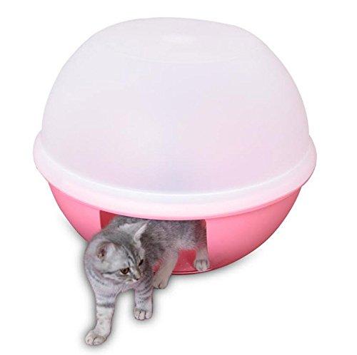 Enclosed cat litter box argos