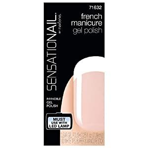 SensatioNail by Nailene French Manicure Gel Polish Clear, Clear, 1 ea