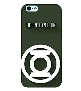 TOUCHNER (TN) Green Lantern Back Case Cover for Apple iPhone 6