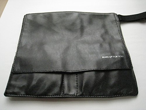 メイク ブラシ エプロン ポーチ ケース 大き目 蓋付き 30×1.2×30.5cm プロ用 腰巻き メイク バッグ