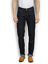 Thisrupt Mens Cotton Slim Fit Jeans (Size-30)
