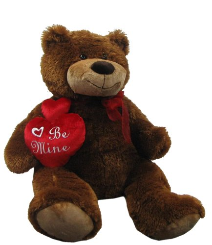 41kbOa7k02L 30 Plush Love Teddy Bear Holding Heart