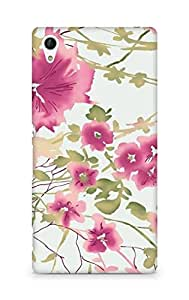 Amez designer printed 3d premium high quality back case cover for Sony Xperia Z4 (pastel blur)