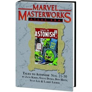 Marvel Masterworks Vol. 135: Atlas Era Tales to Astonish Nos. 21-30 (Marvel Masterworks 135 compare prices)