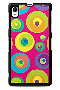 GeekCases Colorfull Circles Back Case for Sony_Xperia Xperia Z1