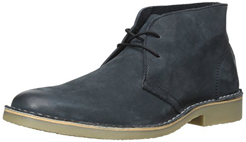 Steve Madden Men's Tristt Black Leather Boots - 10 UK  available at amazon for Rs.9999