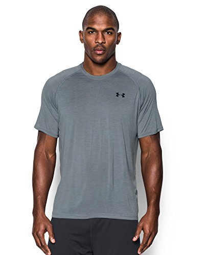 Under Armour Men's Tech Short Sleeve T-Shirt, Steel (038), Medium