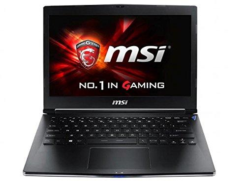 MSI GS Series GS30 Shadow-001 Gaming Laptop Intel Core i7 4870HQ (2.50GHz) 16GB Memory 256GB SSD Intel Iris Pro Graphics 5200 Shared memory 13.3'' Windows 8.1 64-Bit Multi-language
