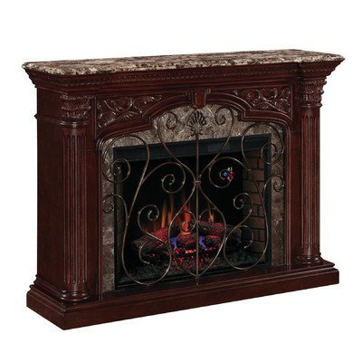 Astoria Electric Fireplace Mantel In Empire Cherry - 33Wm0194-C232