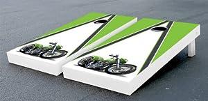CHOPPER MOTORCYCLE CORNHOLE GAME SET