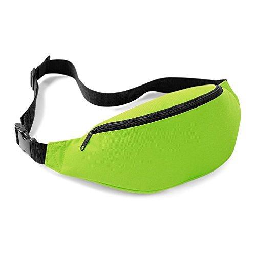 Bagbase nuovo Marsupio Cintura Borsa 8colori, Lime