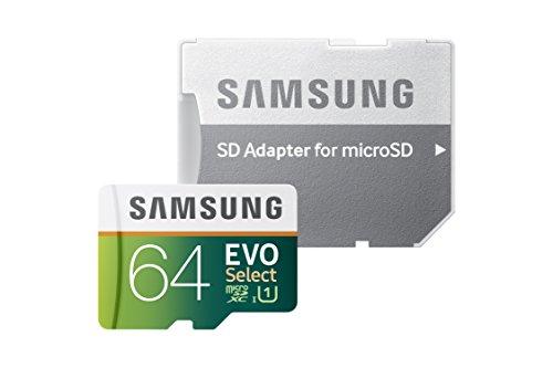 Samsung EVO Select Micro SDXC Memory