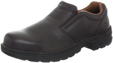 Wolverine Men's Brenner Peak Work Brown Mesh Shoe 7 M US