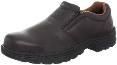 Men's Wolverine® Brenner Opanka Slip-On Work Shoe (7 M in Brown)