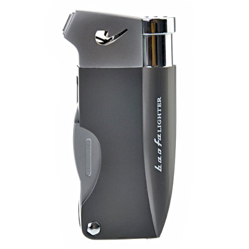 Foxnovo Multifunction Pipe Lighter With Three Different Pipe Tools (Gray)