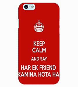 ColourCraft Friendship Design Back Case Cover for APPLE IPHONE 6S