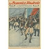 L'eroismo del piu' piccolo belligerante. L'esercito montenegrino, rifiutando la capitolazione in massa, si lancia...