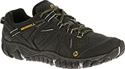 Merrell Men\'s All Out Blaze Aero Sport Hiking Water Shoe, Black, 11.5 M US