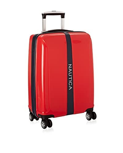 Nautica 20″ Landfall Carry-On Hardside Spinner, Red