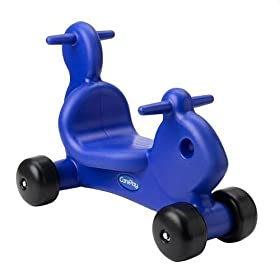 CarePlay 2001S Squirrel Ride-On Walker - Blue
