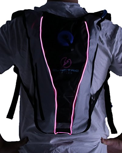 Light Up Hydration Pack (Pink)