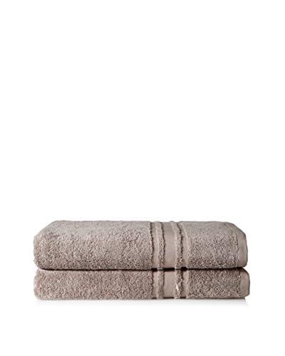 Baltic Linen Oversize 2-Piece Towel Set, Mushroom