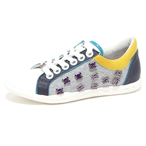 67354 sneaker FRANKIE MORELLO MILANO TESCHI VINTAGE scarpa uomo shoes men [38]