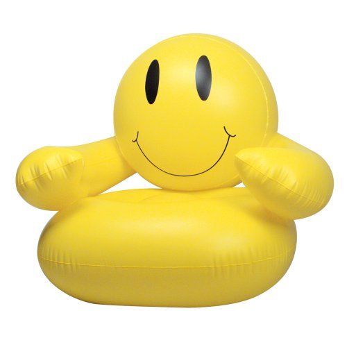 Inflatable Smile Chair Party Accessory (Pack of 1)