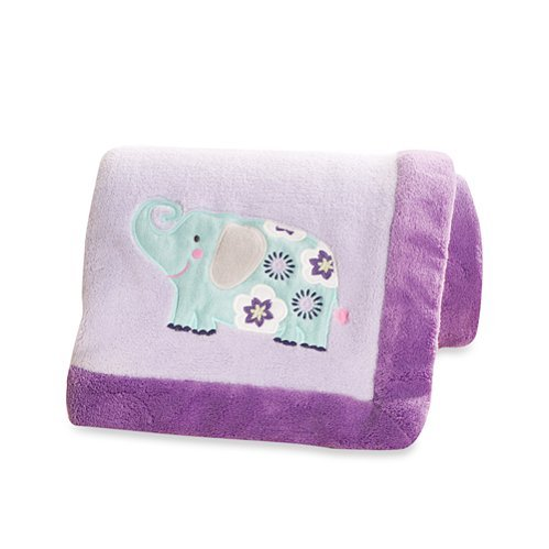 Carters Zoo Garden Blanket