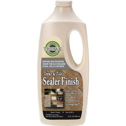 Trewax Tile and Stone Indoor/Outdoor Sealer Finish, 32-Ounce (Outdoor Stone Sealer compare prices)