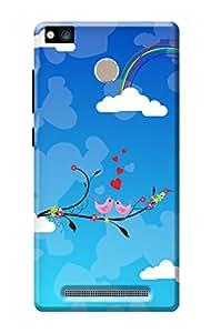 Xiaomi Redmi 3S Prime Valentines Day Back Cover Kanvascases Premium Designer 3D Printed Hard Case