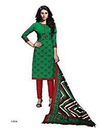 Parinaaz fashion Printed unstitched Straight Salwar Suit dress material