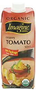 Imagine Organic Soup, Creamy Tomato, 16 Ounce (Pack of 12)