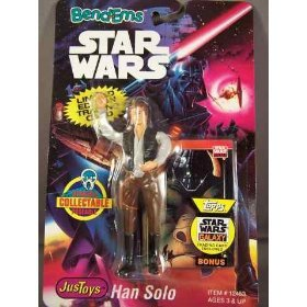 Star Wars Bendems Figure Han Solo Justoys - 1
