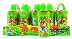 Amazon.com : Lucas Muecas Lollipop Cucumber Pika Pepino 10Ct 6 UNIT