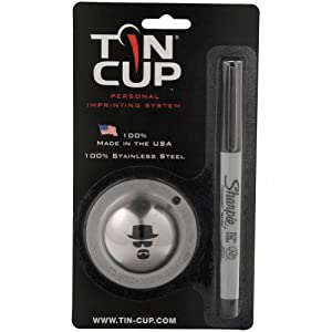 Tin Cup Ball Markers Incognito by Tin Cup