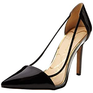 Jessica Simpson Women's Calkins Dress Pump,Black,7.5 M US