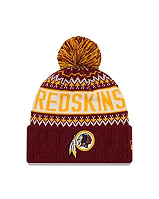 NFL Wintry Pom Knit Beanie