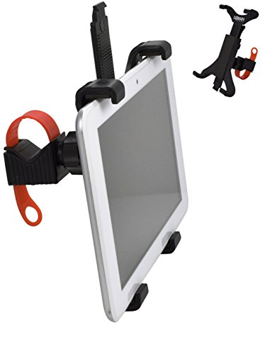 Tablet Mount for Spin Bike & Exercise Bicycle Handlebars, iPad Holder - Domain Cycling