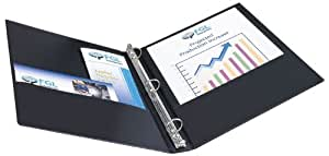 Avery Economy Binder with 1-Inch Round Ring, Black (3301)