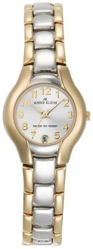 AK Anne Klein Women's 10-6777SVTT Two-Tone Dress Watch with an Easy to Read Dial