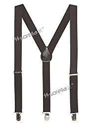 Sorellaz Mens/Womens Y-Back Suspender (Coffee)
