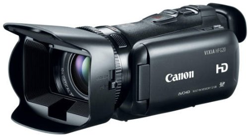 41kc0VRLeRL Canon VIXIA HF G20 HD Camcorder with HD CMOS Pro and 32GB Internal Flash Memory