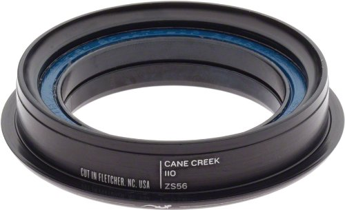 Cane Creek 110-Series Zerostack Bottom For 56Mm Head-Tube (1.5-Inch Crown Race Diameter), Black