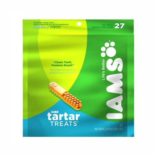 IAMS Tartar Treats for Small Dogs, 27-Count Treats
