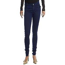 Facts FT01 Women's Denim Jeans (Blue) (Size : 32)