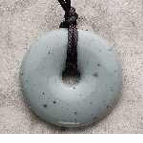 Teething Bling Pendant - Donut Shape (Moonstone)