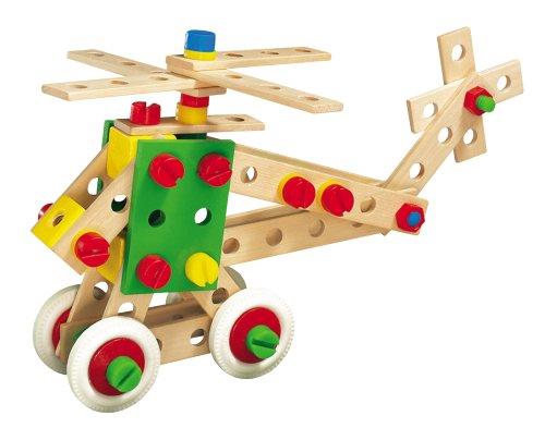 Imagen principal de HEROS 100031512 - Helicóptero en madera para montar, 150 piezas [Importado de Alemania]