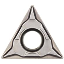 Sandvik Coromant T-MAX U Cermet Turning Insert, TCMT Style, Triangle Shape, UM Chipbreaker, CT5015 Grade, Uncoated